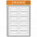 Etikety na archu A4 -88,9x40,6
