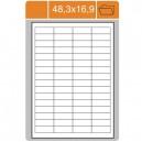 Etikety na archu A4-48,3x16,9